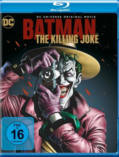 Batman The Killing Joke Blu-ray Review Cover