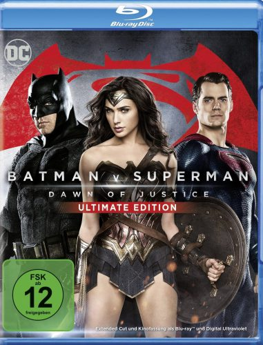 Batman v Superman Dawn of Justice Blu-ray UHD 4K Review Cover A