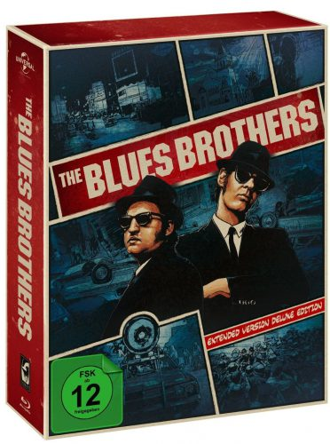 Blues Brothers Extended Version Deluxe Edition Blu-ray Review Cover 2