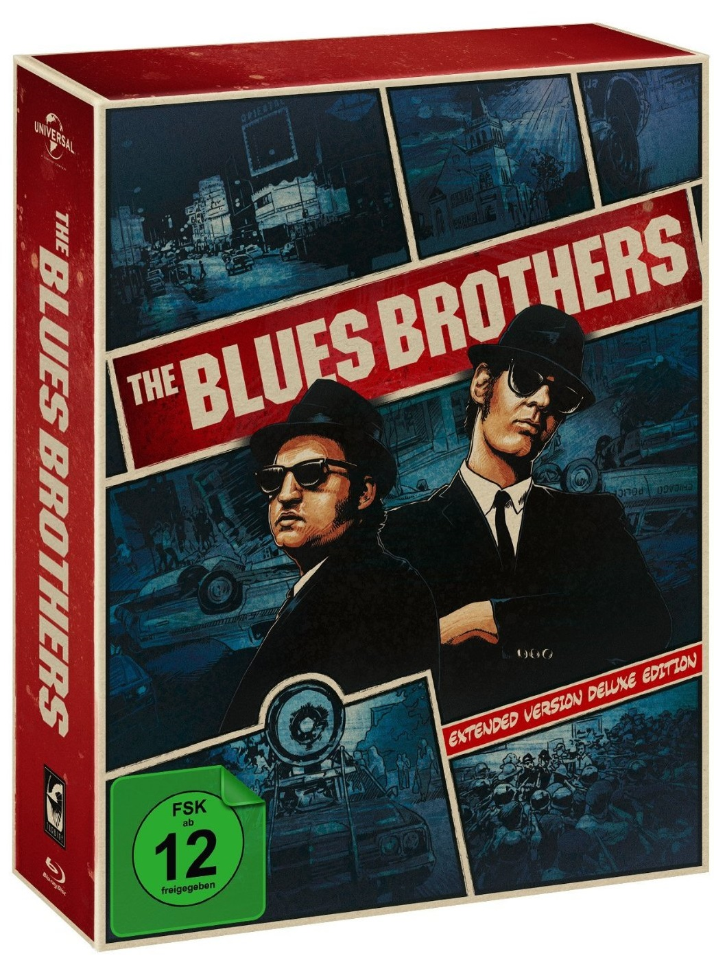 Plakat Blues-Brothers-Extended-Version-Deluxe-Edition