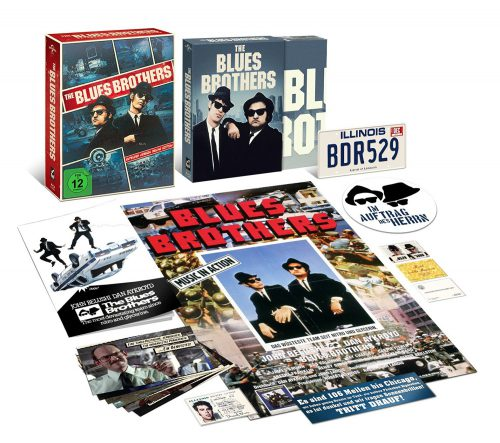 Blues Brothers Extended Version Deluxe Edition Blu-ray Review Cover