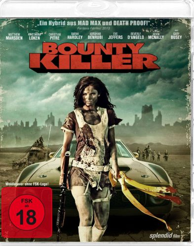 Bounty Killer uncut Blu-ray Review Cover