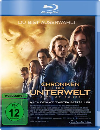 Chroniken der Unterwelt - City of Bones Blu-ray Review Cover