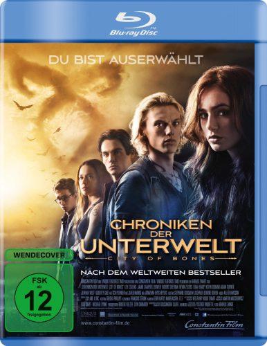 Chroniken der Unterwelt - City of Bones Blu-ray Review Cover