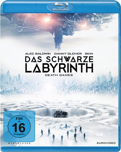 Das schwarze Labyrinth - Death Games Blu-ray Review Cover