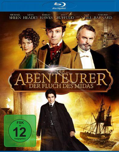 Der Abenteurer Fluch des Midas Blu-ray Review Cover