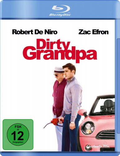 Dirty Grandpa Blu-ray Review Cover