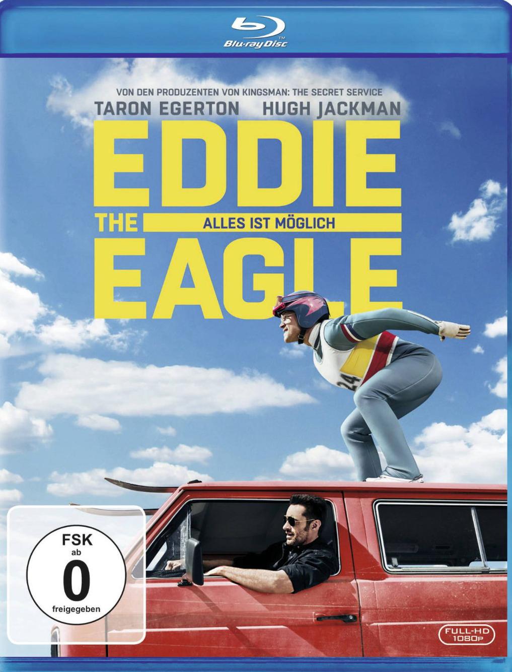 Eddie the Eagle - Alles ist möglich Blu-ray Review, Rezension, Kritik