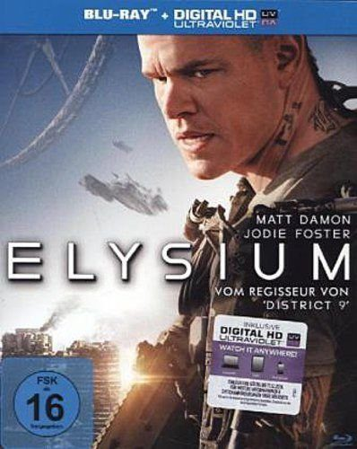 Elysium Blu-ray Review Cover