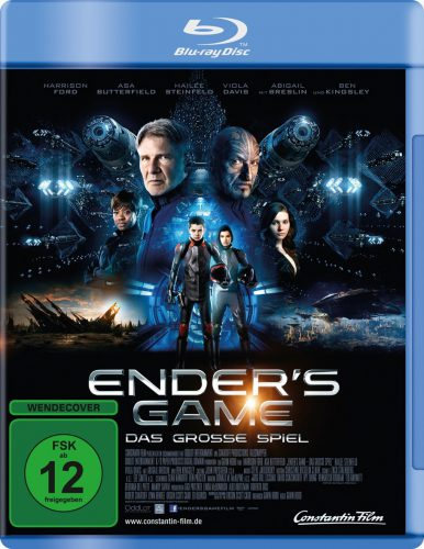 Ender's Game Blu-ray Review Cover