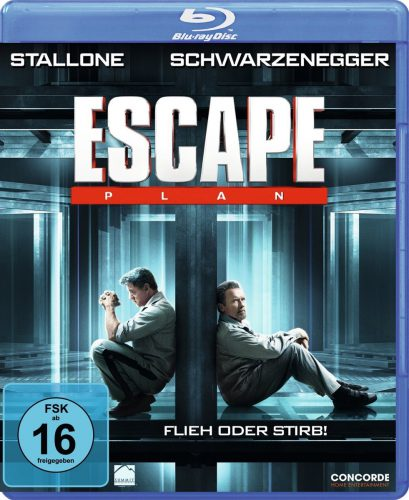 Escape Plan - Flieh oder Stirb Blu-ray Review Cover