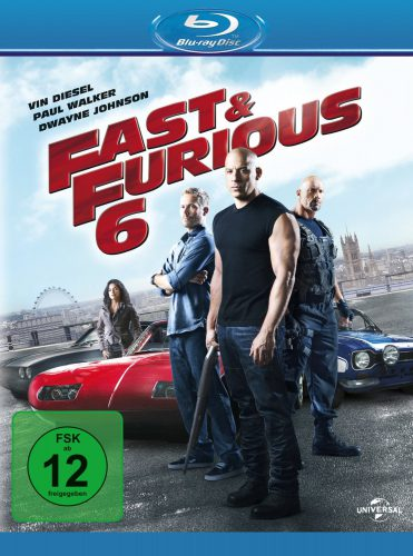 Fast & Furious 6 Blu-ray Review Cover
