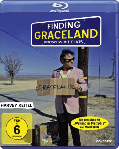 Finding Graceland - Unterwegs mit Elvis Blu-ray Review Cover