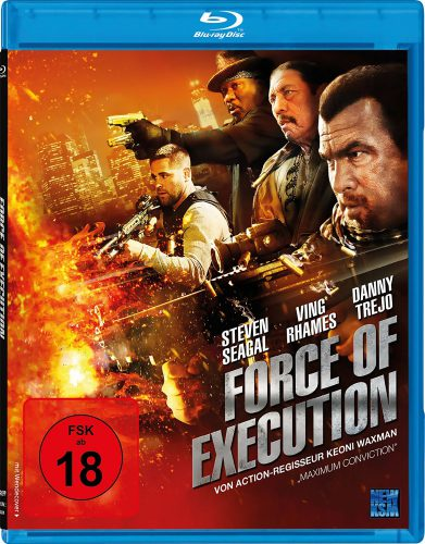 Force of Execution Blu-ray Review Cover