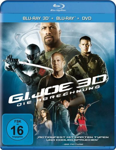 G.I. Joe Die Abrechnung Blu-ray Review Cover