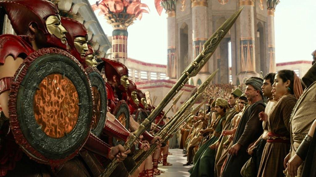 Gods of Egypt 3D Blu-ray Review Szene 3
