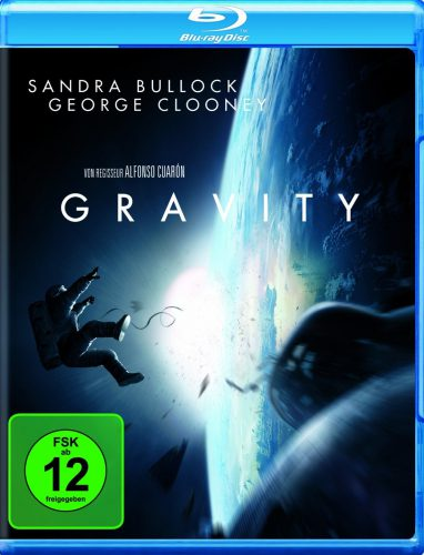 Gravity Blu-ray Review Cover