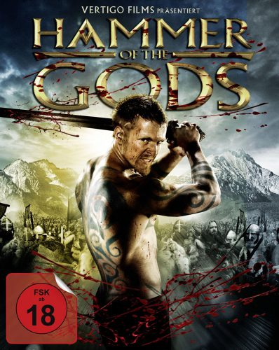 Hammer of the Gods Blu-ray Review Cover