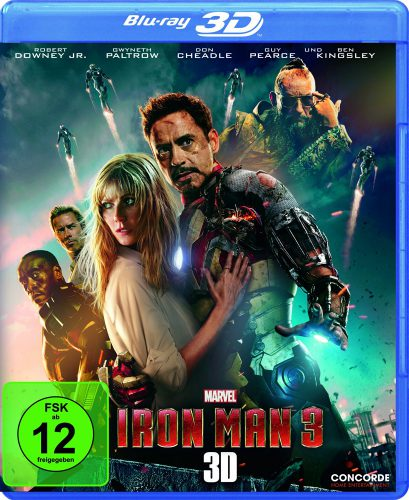 Iron Man 3 3D Blu-ray Review Cover