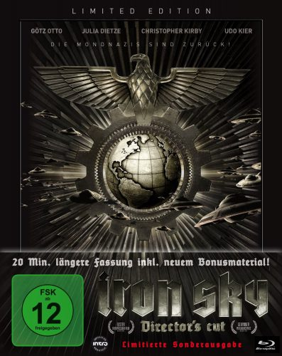 Iron Sky Director's Cut Blu-ray Review Cover