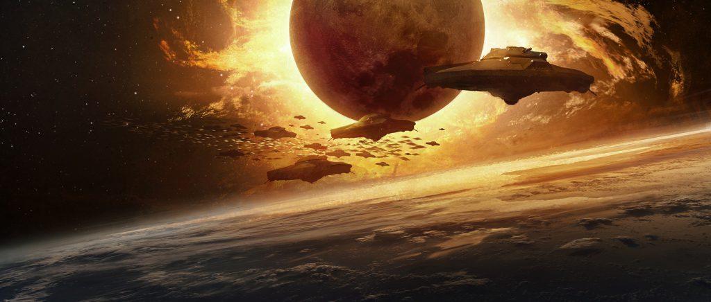 Iron Sky Director's Cut Blu-ray Review Szenen 4