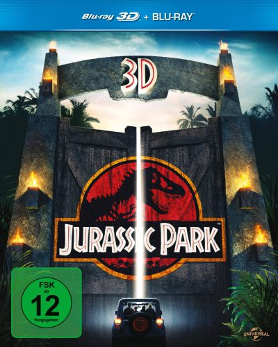 Jurassic Park 3D Blu-ray Review Cover