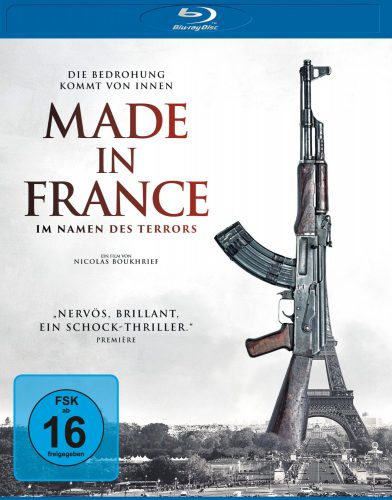 Made in France - Im Namen des Terrors Blu-ray Review Cover