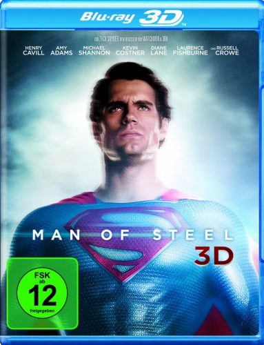 Man of Steel 3D Blu-ray Review Cover