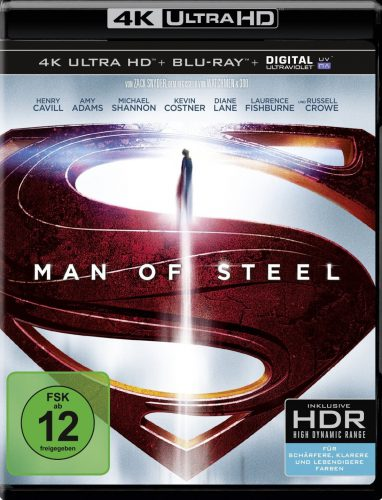 Man of Steel UHD Blu-ray Review Cover