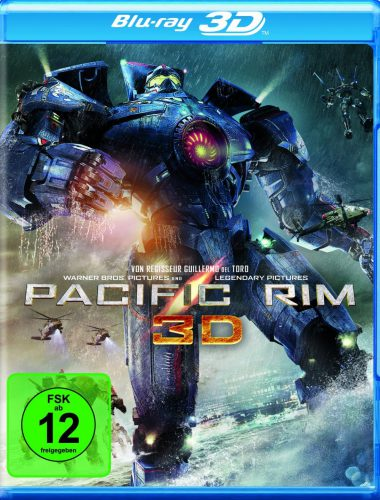 Pacific Rim 3D Blu-ray Review Cover