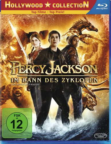 Percy Jackson - Im Bann des Zyklopen Blu-ray Review Cover