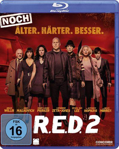 R.E.D. 2 - Noch Älter. Härter. Besser. Blu-ray Review Cover