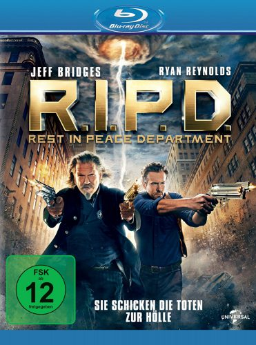 R.I.P.D. - Rest in Peace Department Blu-ray Review Cover