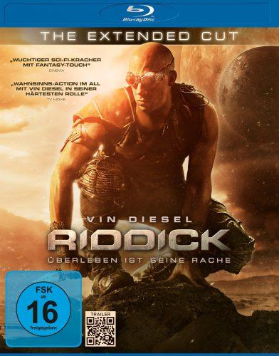 Riddick - Überleben ist seine Rache Blu-ray Review Cover