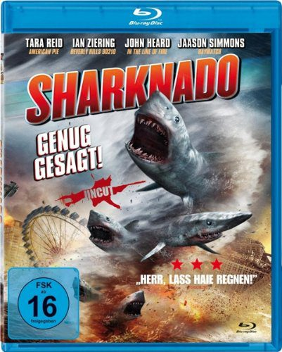 Sharknado - Genug gesagt 3D Blu-ray Review Cover