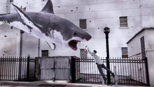 Sharknado - Genug gesagt 3D Blu-ray Review Szene 3