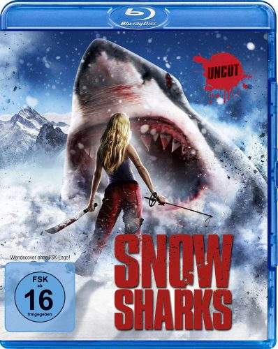 Snow Sharks Blu-ray Review Cover