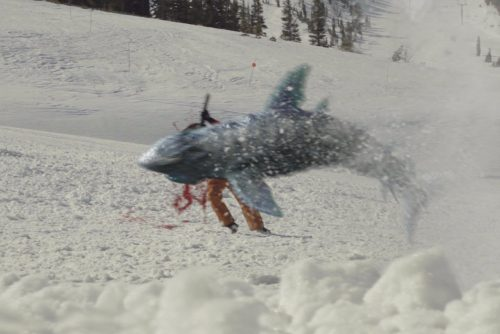 Snow Sharks Blu-ray Review Szene 2