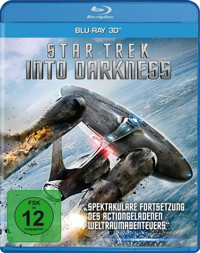 Star Trek Into Darkness 3D Blu-ray Review Cover