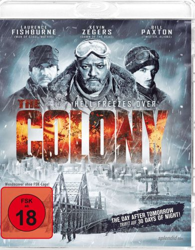 The Colony - Hell Freezes Over Blu-ray Review Cover