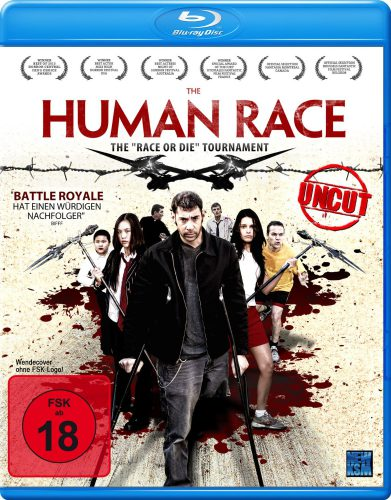 The Human Race - The Race or Die Tournament Blu-ray Review Cover