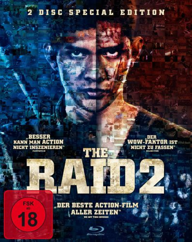 The Raid 2 Blu-ray Review Cover