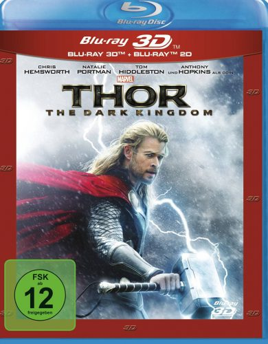Thor - The Dark Kingdom 3D Blu-ray Review Cover