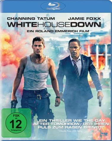 White House Down Blu-ray Review Cover