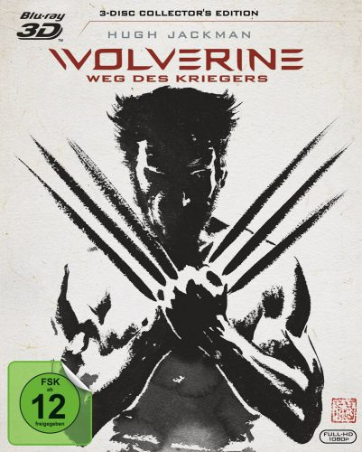 Wolverine Weg des Kriegers 3D Blu-ray Review Cover