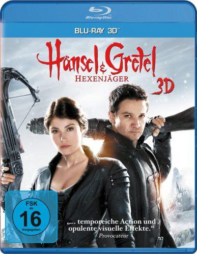 hänsel und gretel hexenjäger 3D Blu-ray Review Cover