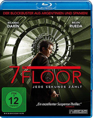 7th Floor - Jede Sekunde zählt schlägt Blu-ray Review Cover