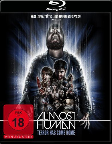 Almost Human - Terror has come home Blu-ray Review Cover