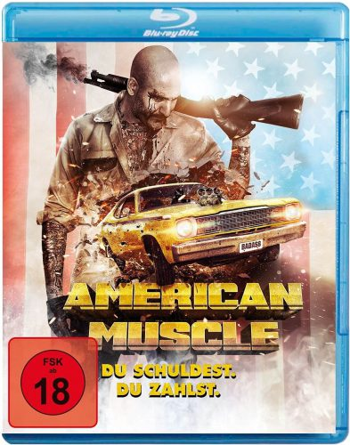 American Muscle - Du schuldest. Du zahlst. Blu-ray Review Cover