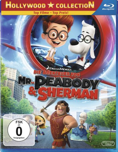 Die Abenteuer von Mr. Peabody & Sherman Blu-ray Review Cover